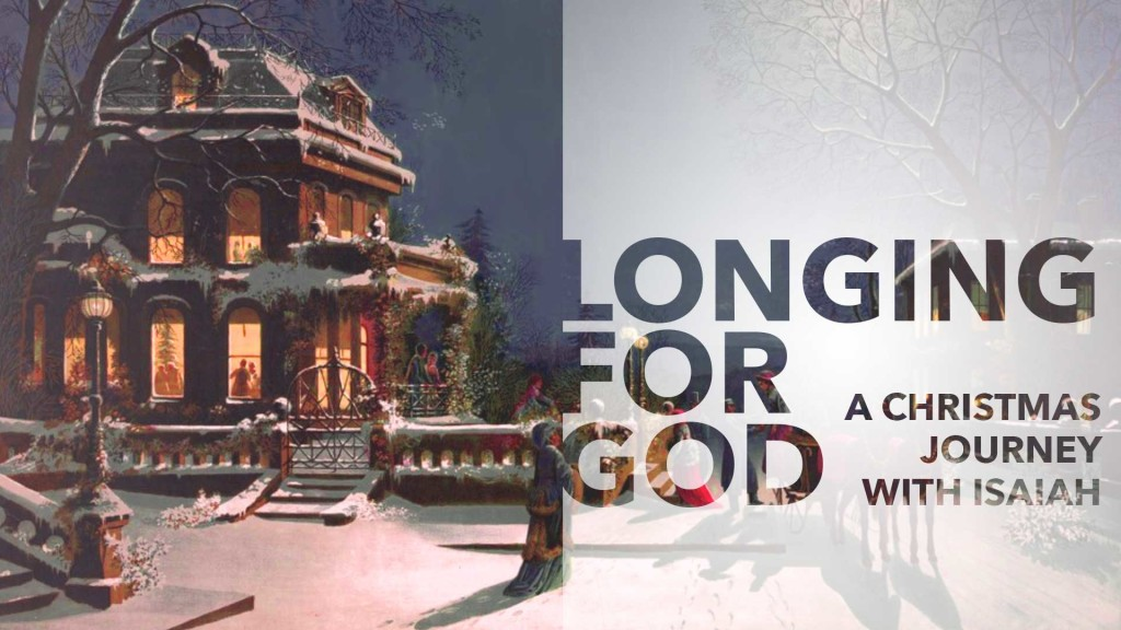 sermon series graphic for the longing for god series